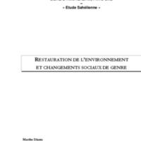 Restoration de l'environemment - Marthe DARRA.pdf