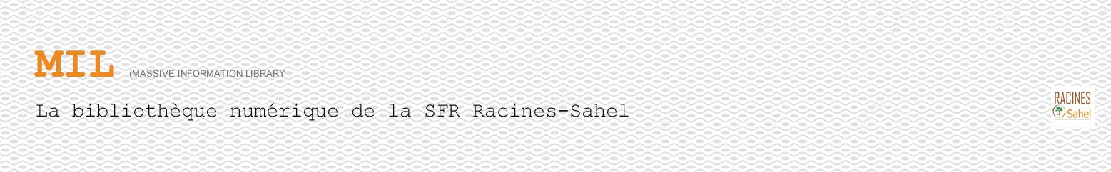 Bibliothèque numérique de Racines-Sahel.org